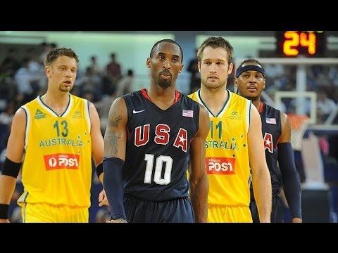 Australia vs USA 2008 Olympics Men's Basketball Exhibition Friendly Match FULL GAME English