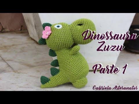 Dinossauro Amigurumi | Triceratops - Parte 1 - Corpo - YouTube | 360x480