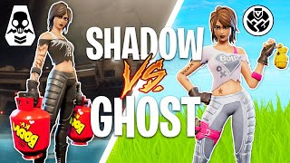New SHADOW vs GHOST Skin Challenges! (Fortnite Battle Royale)