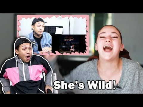 Danielle Bregoli reacts to My reaction to BHAD BHABIE