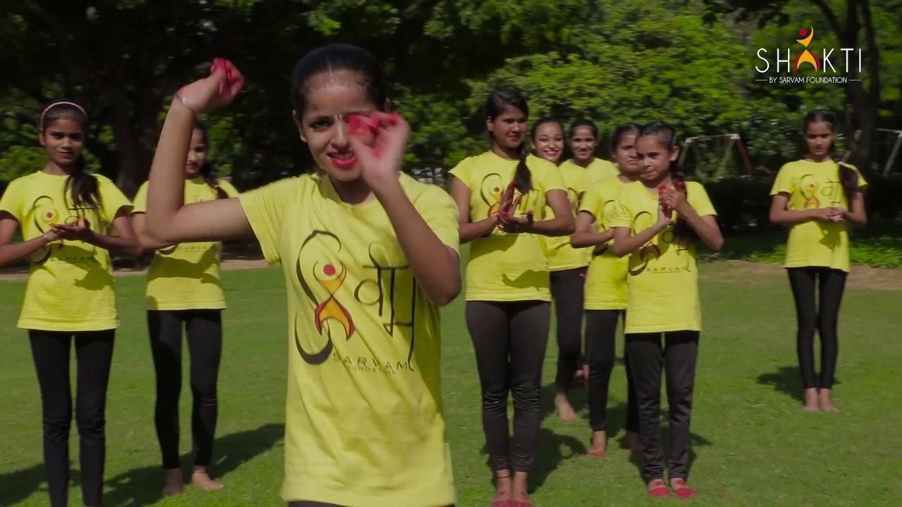 Sarvam Foundation Sarvam Shakti - Georgian folk dance practice