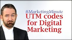 """Marketing Minute 057: """"How are UTM Codes Used for Digital Marketing?"""" (Marketing Technology)"""