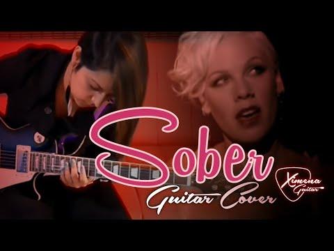 Pink Sober - Cover Guitar-(Ximena Vargas)