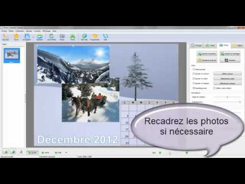 Cr er un calendrier photo personnalis youtube - Creer un calendrier photo ...