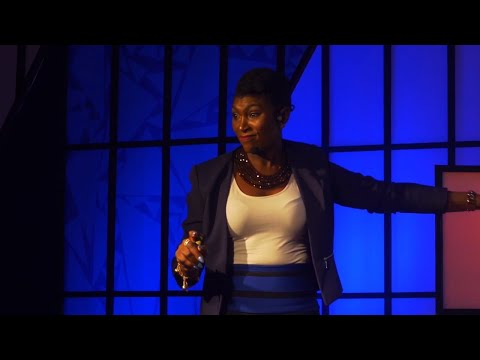 BEAUTY KEEPING UP WITH BRAINS IN A FLAKY WORLD | Ufuoma Ejenobor McDermott | TEDxRayfield