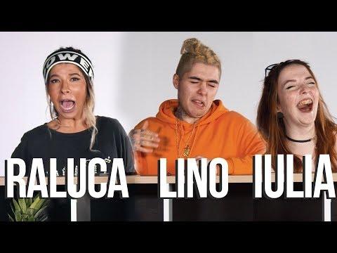 LINO, RALUCA si IULIA BAGA MANA in CUTIA LU' GHIDUSH