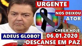 Choro na Globo: Se vai famoso artista e Fim do Domingão do Faustão? Fausto Silva se pronuncia.