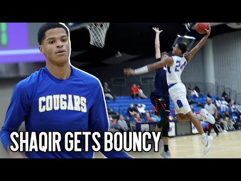 DON'T JUMP with Shaqir O'Neal!! Shaqir Puts on a SHOW in Senior Home Debut In Front of Shaq!