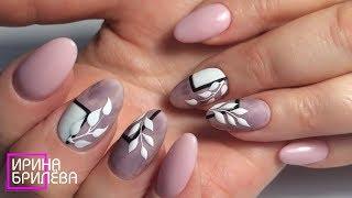 Возрастные ручки Наращивание ногтеи Короткие ногти Красивыи маникюр