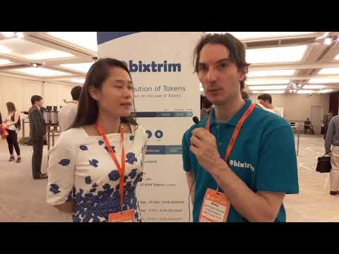 Interview With Elena Lu Nordic Chinese Times In Blockchain & Bitcoin Conference Paris