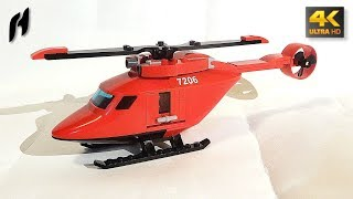 Lego Rescue Helicopter (MOC - 4K)