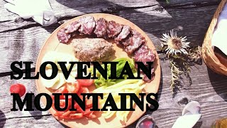 SLOVENIAN mountain experience video for tourists (foods, drinks, cows)