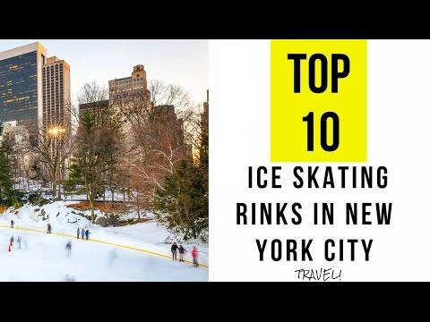 10 Top Ice Skating Rinks in New York City