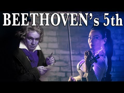 Beethoven's 5th Symphony Theme - Violin Cover Cristina Kiseleff 🎼♬