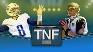 Thursday Night Football: Jacksonville Jaguars vs. Tennessee Titans