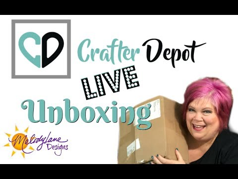 LIVE Unboxing with Crafter Depot