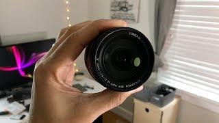 видео Объектив Panasonic Lumix G X 12-35mm f/2.8