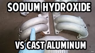 Cleaning Cast Aluminum with Sodium Hydroxide