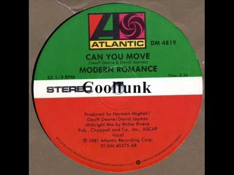 """Modern Romance - Can You Move (12"""" Midnight Mix)"""