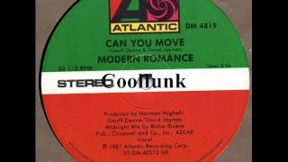 modern romance   can you move 12 midnight mix