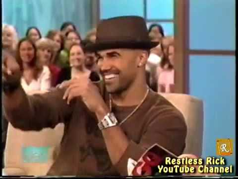 Shemar Moore dances to 50 Cent 'In Da Club' on Ellen 2006