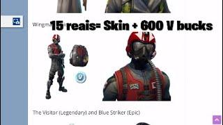 Rarity of skins and bug at Fortnite