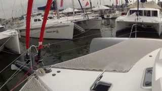 Neel 45 Trimaran Toured by ABK Video at the Annapolis 2012 October US Boat Show