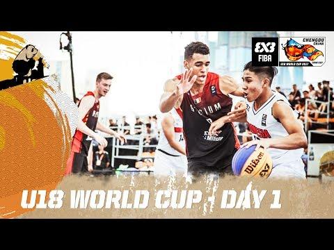 FIBA 3x3 U18 World Cup 2017 - Day 1 - Re-Live - Chengdu, China