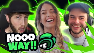 INSTANTLY Exposing Imposters in Among Us ft. Valkyrae, Nadeshot, Banks, Corinna, Lazarbeam & more!