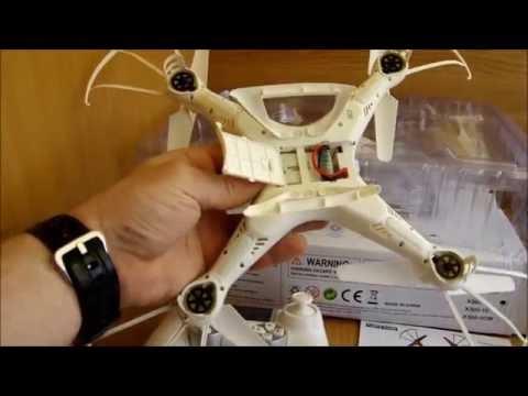 Квадрокоптер SJ X300 неплохая игрушка для обучения
