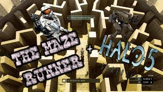 MAZE RUNNER VIDEO GAME !?! | Halo 5 Action Sack w/ the guys!
