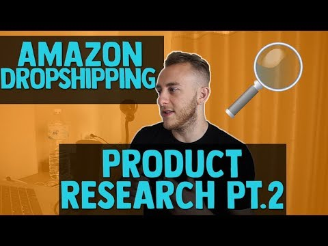 Amazon Dropshipping Product Research [Part 2] || Watch me work