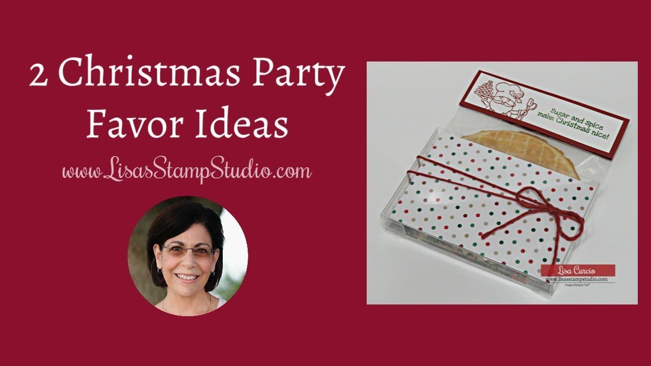 Christmas Party Favor Ideas.2 Christmas Party Favor Ideas