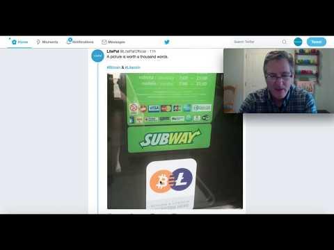 Litecoin & Subway Sandwich Stores