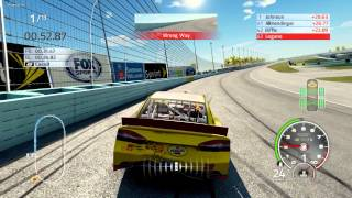 NASCAR 14 The Game Crash Compilation