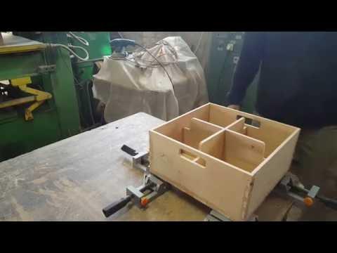 Деревянный Ящик из фанеры для банок часть 2