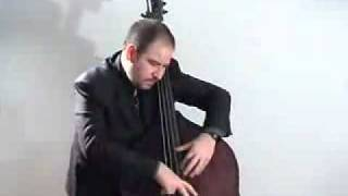 marco panascia solo jazz bass blues in f charlie parker
