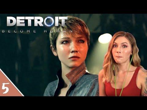 More Friends!   Detroit Become Human Pt. 5   Marz Plays