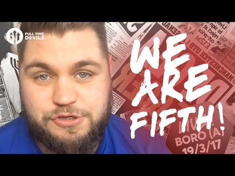 Now We Are 5th!   Middlesbrough 1-3 Manchester United   LIVE REVIEW