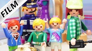 Playmobil Film deutsch   NILS SCHNÖSEL der BETRÜGER im Einkaufszentrum!   Familie Vogel Kinderserie