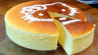 Receita de Cheesecake Japonês