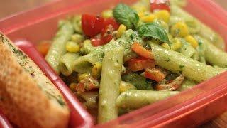 Pesto Vegetable Pasta | Tiffin Treats by Roopa Nabar | Sanjeev Kapoor Khazana