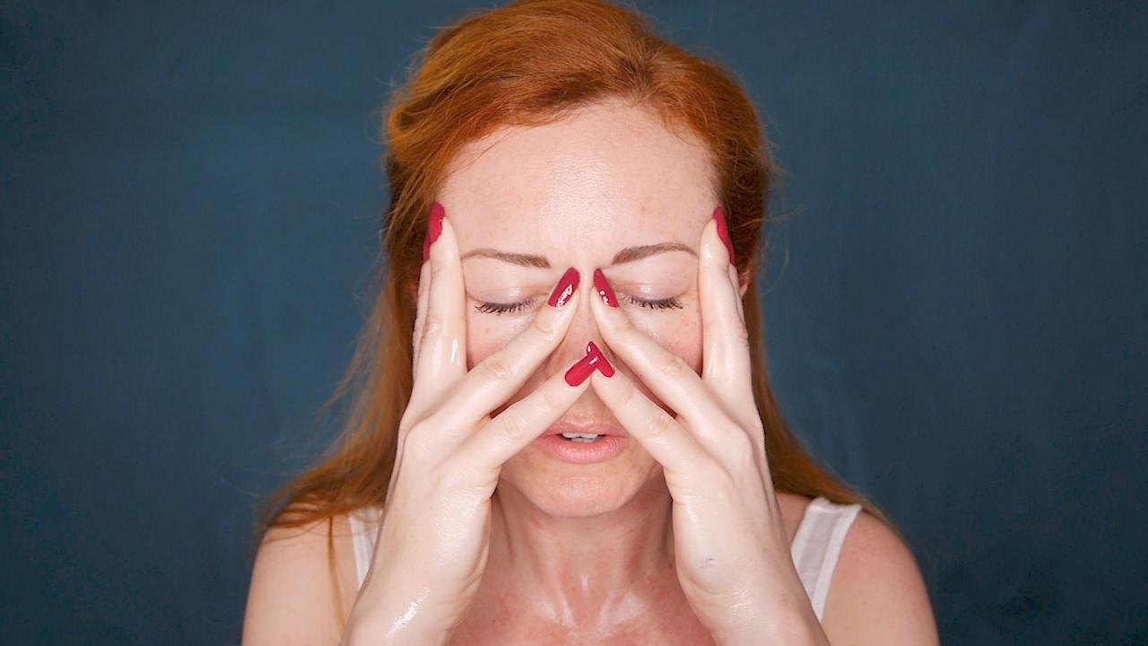 Cum the self facial massage suces