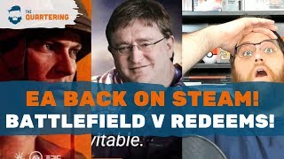 EA BACK On Steam & Battlefield V Redeems! What Is Even Happening?