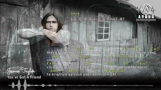 You´ve Got A Friend - James Taylor - Chords - AGORA#003