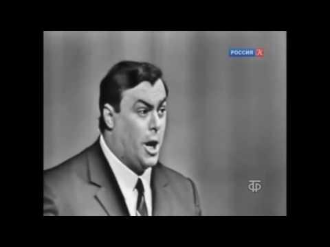 """Pavarotti, """"La Donna e Mobile"""" from Verdi's """"Rigoletto"""". Moscow, 1964"""