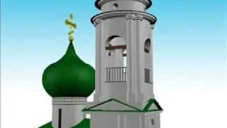 Святогорский монастырь(Пушкинские Горы. Святогорский монастырь, могила А. Пушкина., 2008-10-30T10:55:06.000Z)