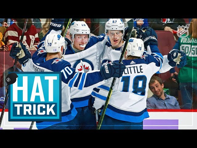 Patrik Laine lifts Jets with sixth career hatty