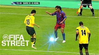 Ronaldinho Plays Football Like FIFA Street!