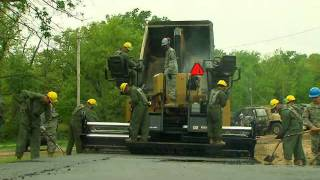 Army Careers 12V - Concrete and Asphalt Equipment Operator